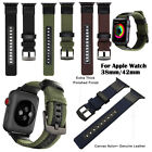 Heavy Duty Military Sport iWatch Band Wrist Strap For Apple Watch 38/40/42/44mm image