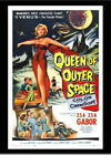 146554 Queen Of Outer Space Vintage Movie Decor Wall Print Poster CA