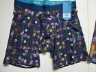 NWT Stance Stretch Cotton Boxer Brief- Floral Size M