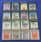 Nintendo Gameboy Color Games Complete Fun Pick & Choose GB GBC GBA Video Games