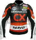 CX Repsol MotoGp Motorbike Racing Leather Jacket In All Sizes Available