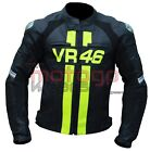 Valentino Rossi VR46 MotoGP Motorbike Racing Leather Jacket All Sizes Available