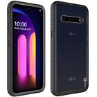 For LG V60 ThinQ 5G Case Full Body Slim Military Clear Shockproof Phone Cover