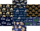 NFL COTTON Fabric 9 inches X 58 inches (1/4 of a yard) DIY MASK - Choose a team $25.0 USD on eBay