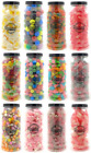 LARGE JAR RETRO SWEETS (20cm) Pick n Mix RETRO Wedding Kids Candy Sweet Shop