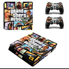 new ps4 slim vinyl skin decal stickers set console +2 controllers +12 kinds