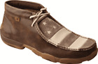 Men's Twisted X MDM0068 VFW Chukka Driving Moc Muted Patriotic Full Grain Leathe