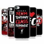 OFFICIAL LIVERPOOL FOOTBALL CLUB REDMEN SOFT GEL CASE FOR APPLE iPOD TOUCH MP3