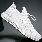 US Men's Athletic Sneakers Sport Trail Running Shoes Mesh Breathable Tennis