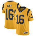 Jared Goff #16 Los Angeles Rams Men's Nike Gold Color Rush Jersey $60.0 USD on eBay