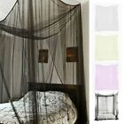 4 Corner Post Bed Canopy Mosquito Net for 190*210*240 beds in MANY COLORS  image