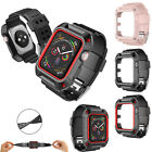 For Apple Watch Series 1/2/3 Protective Sport Cover Wristband TPU Case 38mm 42mm image