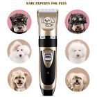 Pet Professional Dog Grooming Clipper Kit Thick Fur Hair Trimmer Electric Shaver