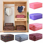 Portable Clothing Storage Bag Organizer Folding Closet Organizer For Pillowquilt
