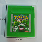 7 Color Version Pokemon Game Card Classic Game Cards Carts For Pokemon GB GBC