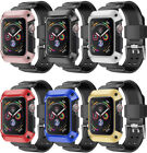All-in-One Protective Case Cover with Band for Apple Watch Series 4, 44mm