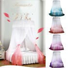 Ceiling-Mounted Mosquito Net Free Installation Home Dome Foldable Bed Canopy NEW image