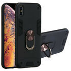 For Huawei P20 Mate 20 Nova 6 Y7 Pro Shockproof Armor Ring Stand Cover Case