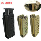 Molle Single Pistol Mag Pouch Open Top Elastic Tactical Pouch Tool Holster