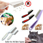 Pet Cat Dog Trimmer Grooming Comb Brush Comb Rake Hair Shedding Flea Stainless