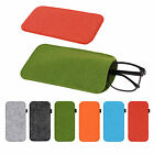 Eyeglass Pouch Glasses Sunglasses Case Sleeve Cosmetic Bag Soft Bags 9*18cm @y