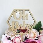 CLEARANCE! 1 ONLY Timber Oh Baby Polygon Cake Topper Cake Decoration Baby Shower