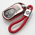 Chrome TPU For Buick Encore Envision GL6 OPEL Astra Car Key Fob Case Cover