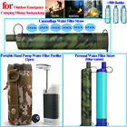Water Purifier Pump|Water Filter Straw Filtration System Portable Outdoor Gear