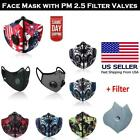 Kyпить Air Purifying Cycling Protective Mask Face Mouth Cover with PM 2.5 Filter Valves на еВаy.соm