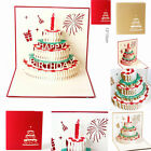 Creative Paper-cut Art Greeting Card Laser Handmade High Quality Holiday Gift