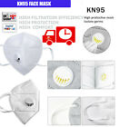 FFP2 KN95 N95 Face Mask With Vent Valve Hygienic Anti Bacterial Pollen Surgical