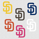 San Diego Padres Decal Sticker Logo on Ebay