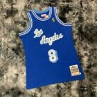 Los Angeles Lakers #8 Kobe Bryant Blue Throwback Jersey Same Day Shipping on eBay