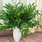 22'' Artificial Willow Plants Wicker Green Leaf Home Office Garden Wedding Decor