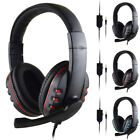 3.5mm Wired Stereo Bass Surround Gaming Headset for PS4 Xbox One PC with Mic