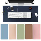 Large Leather Office Computer Desk Mat Table Game Keyboard Mouse Pad Top Quality