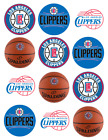 Los Angeles Clippers Edible Image Toppers. Edible Round Pre Cut Stickers. on eBay