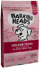 Barking Heads Dry Dog Food for Senior Dogs - Golden Years - 100% Natural Free-Ru
