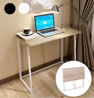 Foldable Computer Desk Folding Laptop Pc Table Home Office Study Gaming Desk Uk