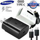 OEM 25W PD Fast Charger Dual USB Type-C Cable For Samsung Note10 S20 S10 S9 A80