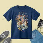 123Disney T-Shirt for Adults - Splash Mountain - Navy T-Shirt Regular Size M-3XL image