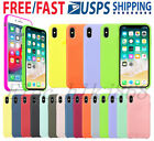 Silicone Luxury Case for Apple iPhone X XR XS Max 7 8 Plus 11 Pro Max Cover