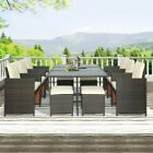 New Rattan Wicker Sofa Set Sectional Couch Cushioned Furniture Patio Outdoor