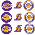 Los Angeles Lakers Edible Image Toppers. Edible Round Pre Cut Stickers. on eBay