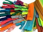 27 Inch 10 Colors YKK #3 Nylon Zippers Supplies for Apparel & Crafts Projects