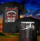 Alice Cooper and Ol Black Eyes Is Ba Tour 2020 Full Dates Black T-Shirt W35