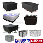 10size Waterproof Outdoor Patio Garden Furniture Rain Snow Cover For Table Chair
