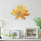 Room Decoration Home Wall Decoration Removable Tv Sticker Wall Sticker Lotus Ls