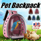 Large Cat Pet Parrot Carrier Backpack Travel Transparent Space Capsule Rucksack