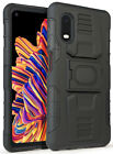 Rugged Case Cover with Stand Ring Grip for Samsung Galaxy XCover Pro (SM-G715)